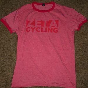 Tops - Zeta cycling t shirt, never worn